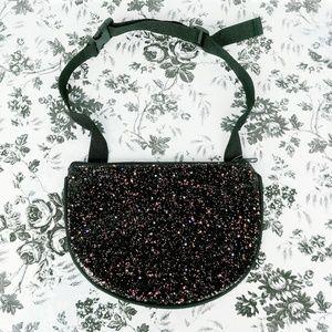 Handbags - Glitter fanny pack waist purse
